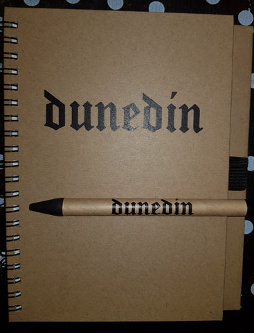 Dunedin Notebook and pen - gonepottynz