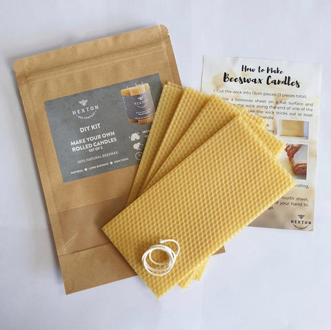 DIY Candle Kit 35x105mm Set of 3 - gonepottynz