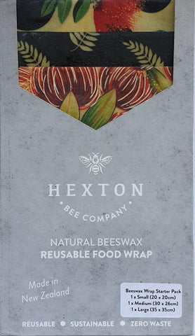 Beeswax Food Wrap 3 Pack - gonepottynz