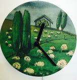 Clock art assorted designs | Bridget Paape - gonepottynz
