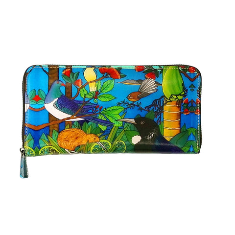 NZ Native Bird - Wallet - gonepottynz