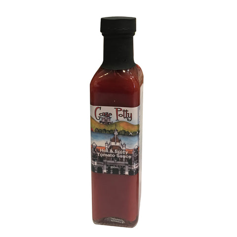 Gone Potty - Hot & Spicy Tomato Sauce 250ml - gonepottynz