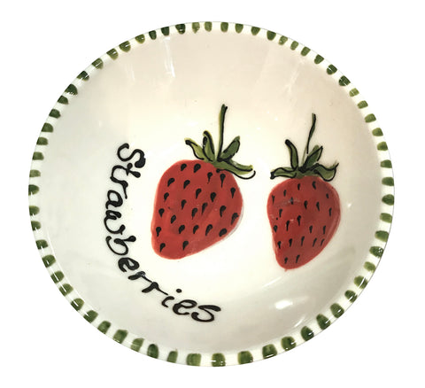 Strawberry - Small Plate - gonepottynz