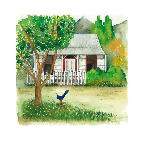Provisions Cottage - Art Print