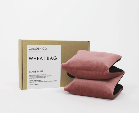 Wheat Bag - Blush Velvet - Gone Potty - Gift Shop Dunedin