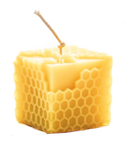 Honeycomb Cube Candle - gonepottynz