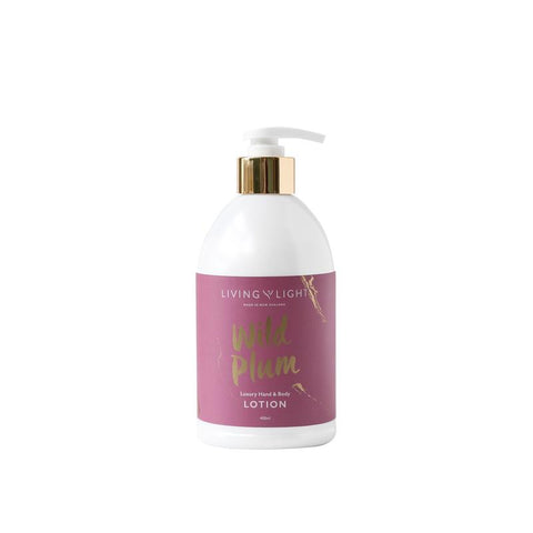 Living Light Luxury Hand & Body Lotion - Wild Plum - gonepottynz