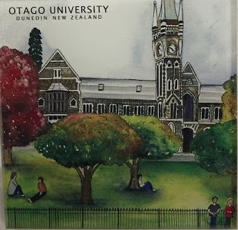 Glass Coaster | Otago University | Bridget Paape - gonepottynz