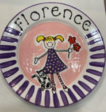 Personalised Plates - Side Plates - gonepottynz