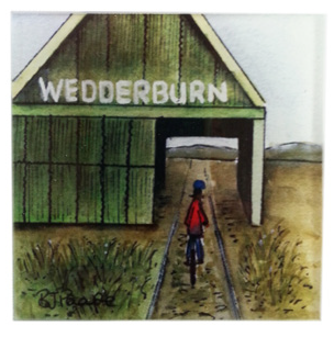 Wedderburn - Glass Coaster