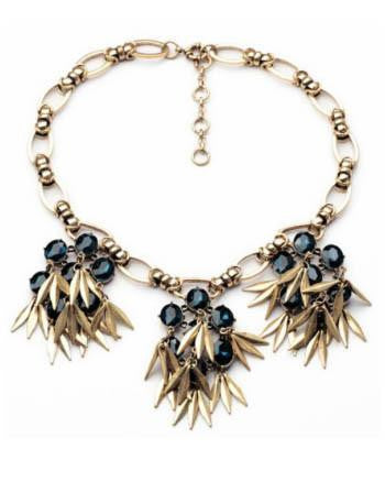 DILWORTH ROAD Fringe Statement Necklace