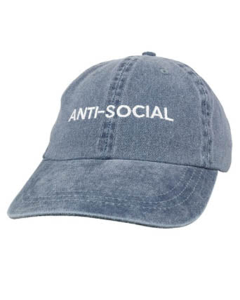 Anti-Social Baseball Hat