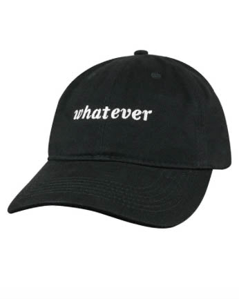 WHATEVER Baseball Hat