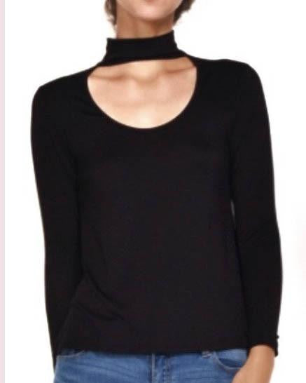 Choker Detailed Top (Black)