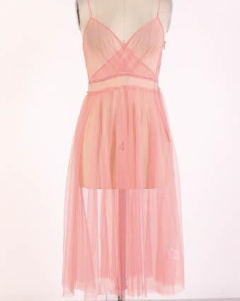See-Thru Sheer Summer Dress
