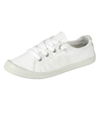 Casual Low Top Sneakers - White