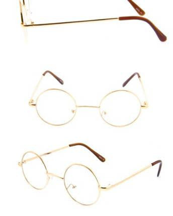 Harry Round Glasses