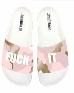 F*ck It Pink Army Print Slides