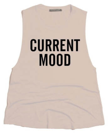 Current Mood Tank Top