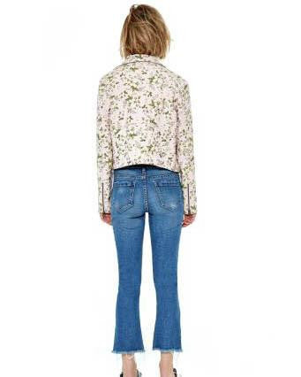 BLANKNYC Stem To Stem Floral Jacket