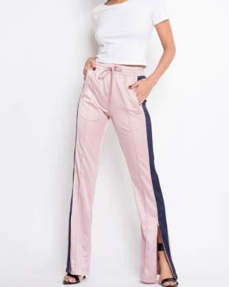 Satin Style Track Pants