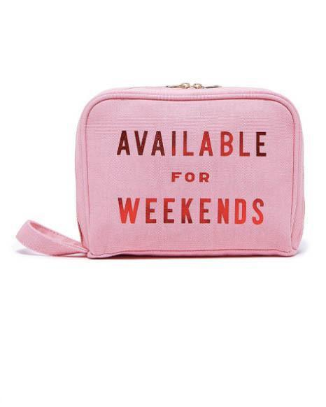 Ban.Do Available For Weekends Toiletries Bag