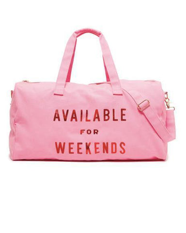 Ban.Do Available for Weekends Duffle Bag