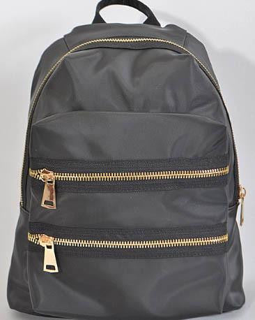 H&D Double Zipper Backpack