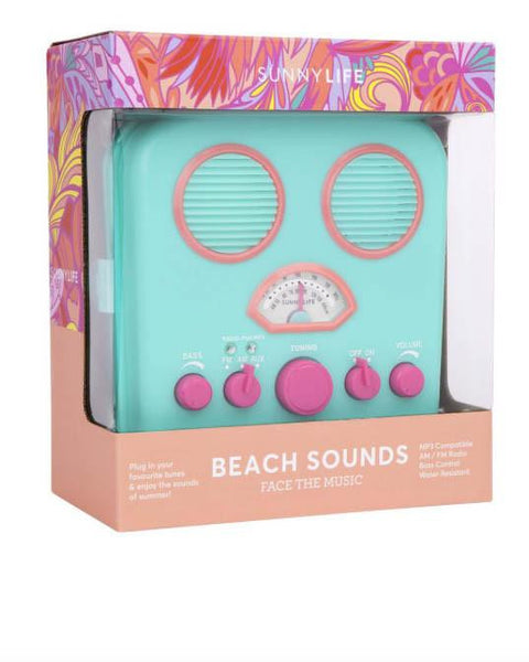 Beach Sounds - Turquoise - Roehampton Road