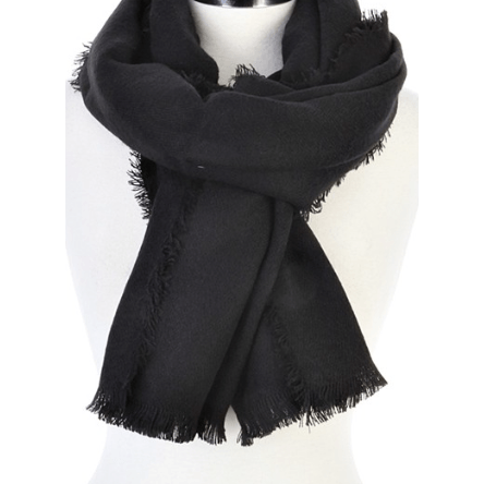 LIGHTWEIGHT Scarf (Black)