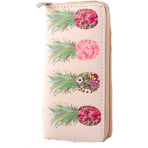 PINEAPPLE Zippy Wallet