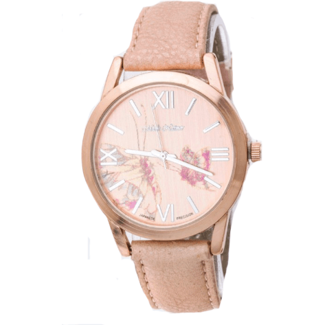 Floral Rose Gold Watch (Blush)