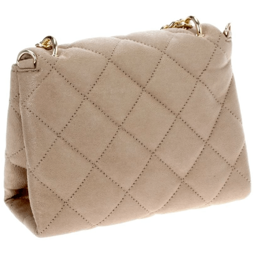 CARRIE Quilted Satchel (Gold)