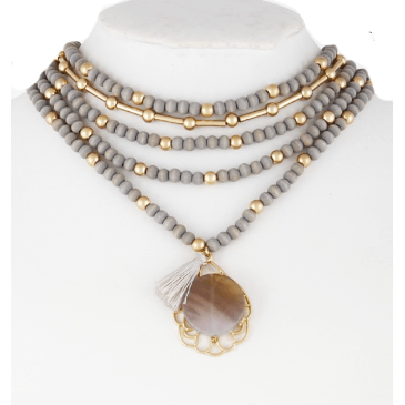 CHELSEA Statement Layer Necklace