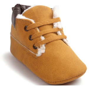 Infant Lace Up Booties