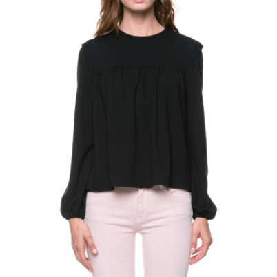 AFTER MARKET Flounce Blouse Top
