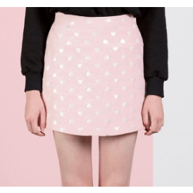 AFTER MARKET Sweetheart Skirt