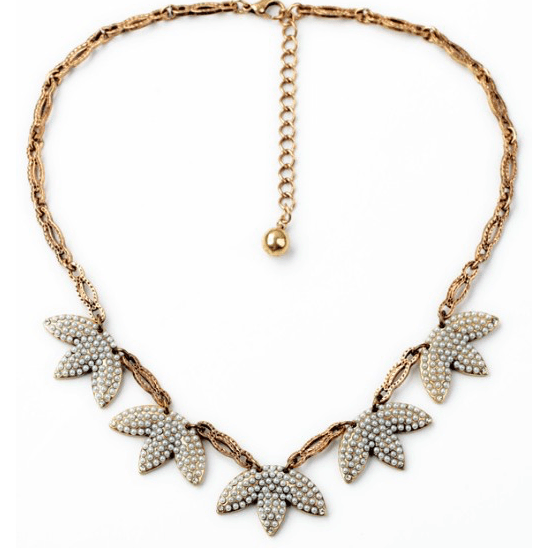 DILWORTH ROAD Faux Pearl Necklace