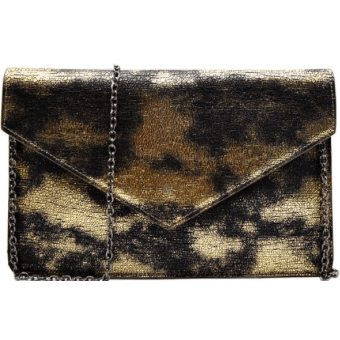 BB Metallic 2 Tone Envelope Clutch