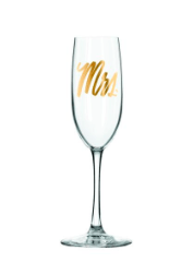 EASY, TIGER Champagne Flute - Mrs.