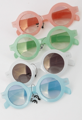 Summer Fun Two-Tone Sunglasses