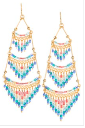 Cleopatra Earrings With Layers