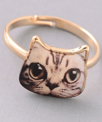 Cat Ring - Brown