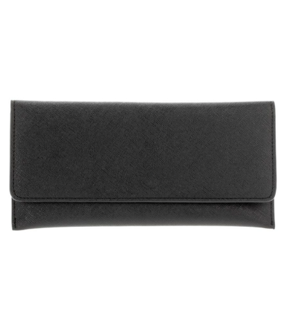 Saffiano Wallet - Black