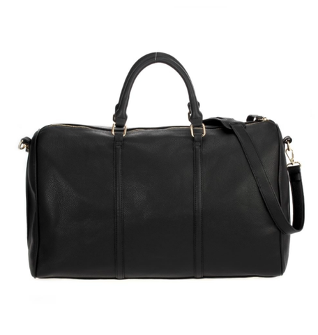 Large Overnight Duffle Bag - Black