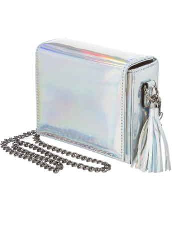 Iridescent Box Purse
