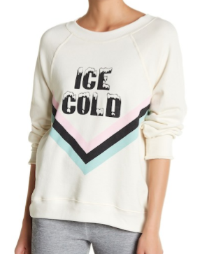 "WILDFOX COUTURE ""Ice Cold"" Sweatshirt"