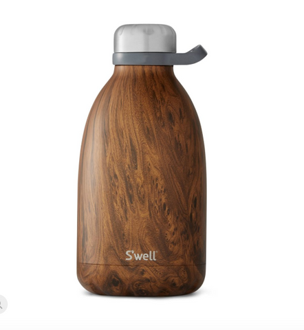 "SWELL X-Large ""Roamer"" Teakwood Bottle (64 oz.)"