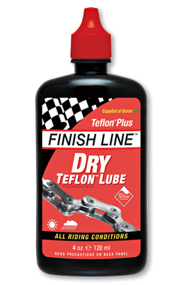Finish Line Teflon Plus Dry Lube 4oz 120ml