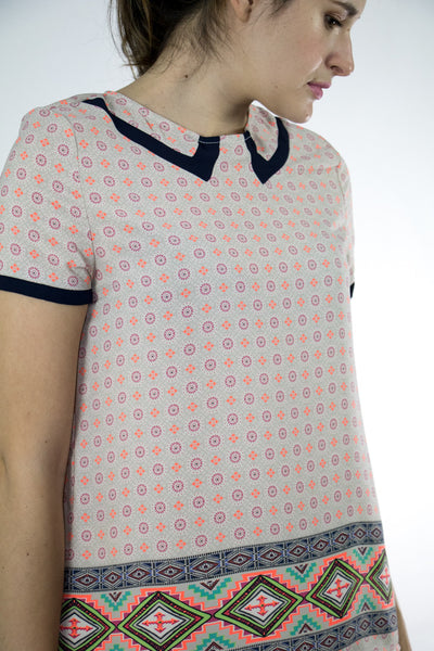 Adler Printed Top